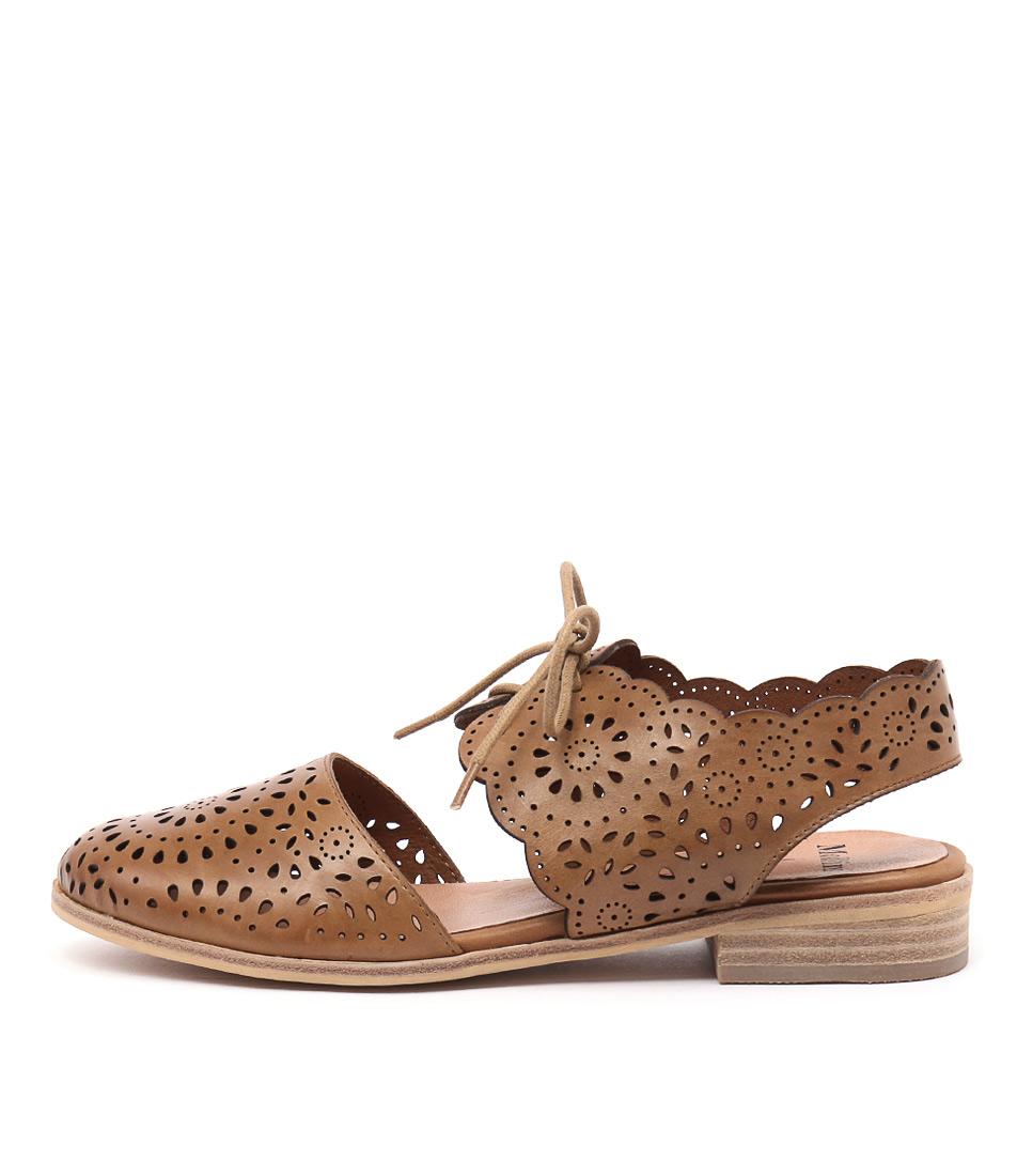 Mollini Quorro Tan Flat Shoes