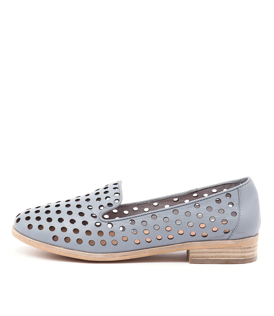 Mollini Queff Powder Blue Casual Flat Shoes