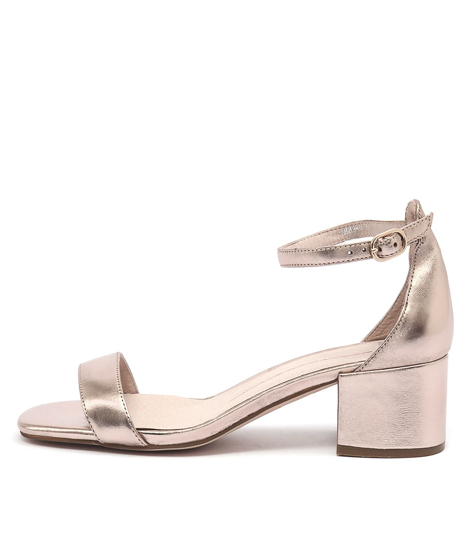 Mollini Taine Rose Gold Heeled Sandals
