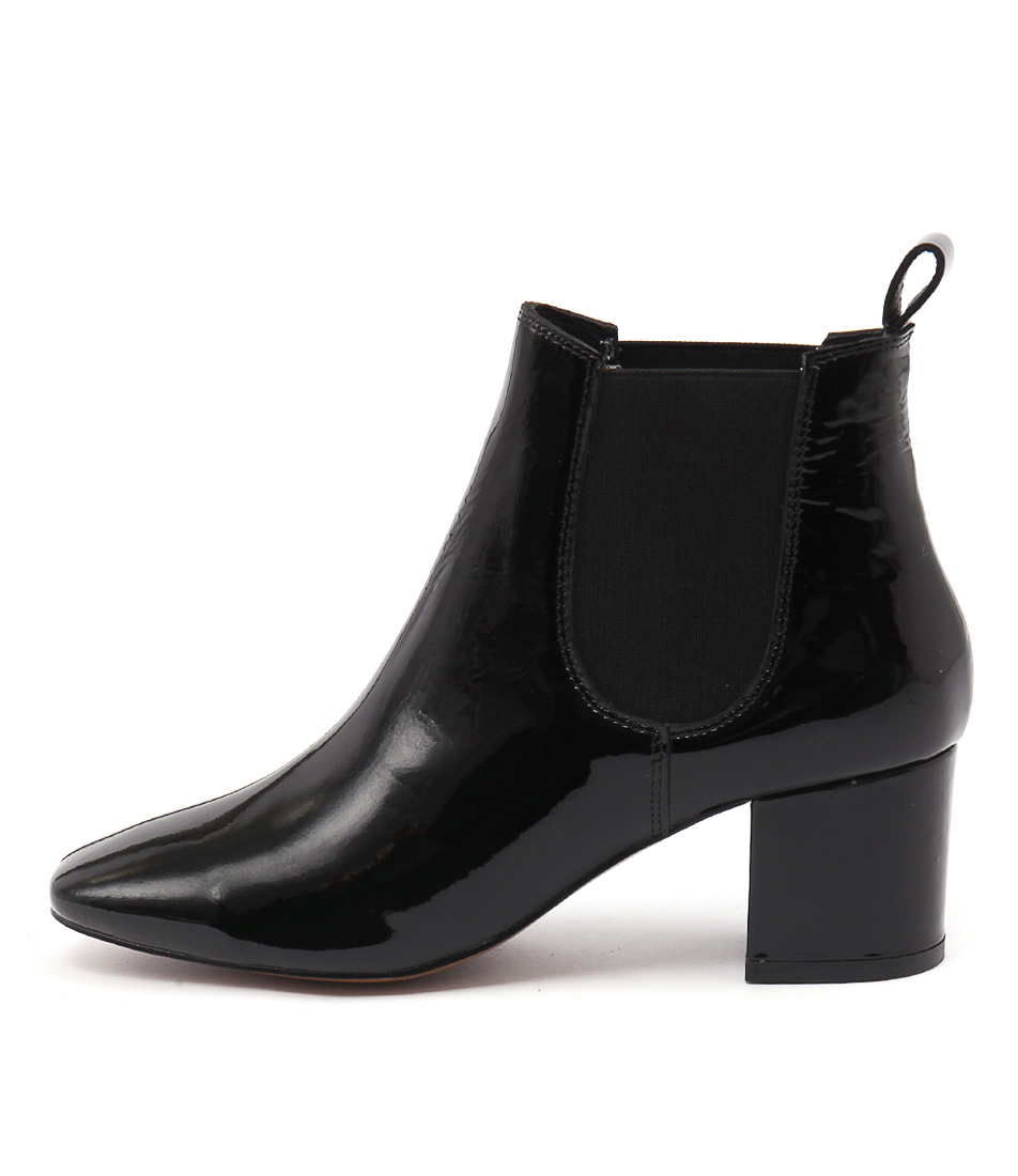Mollini Char Black Casual Ankle Boots