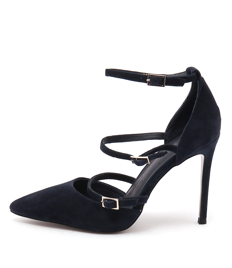 Mollini Dalight Navy Heeled Shoes