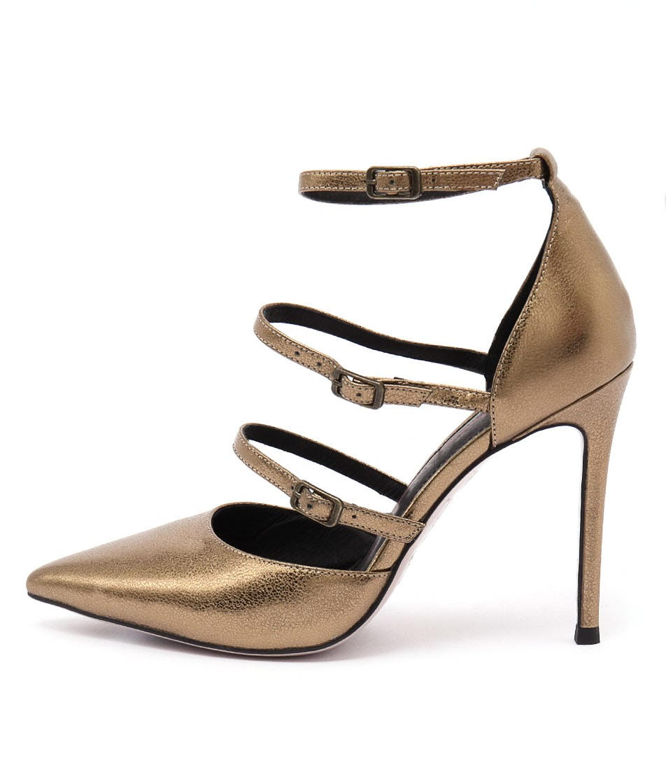 Mollini Dalight Bronze Heeled Shoes