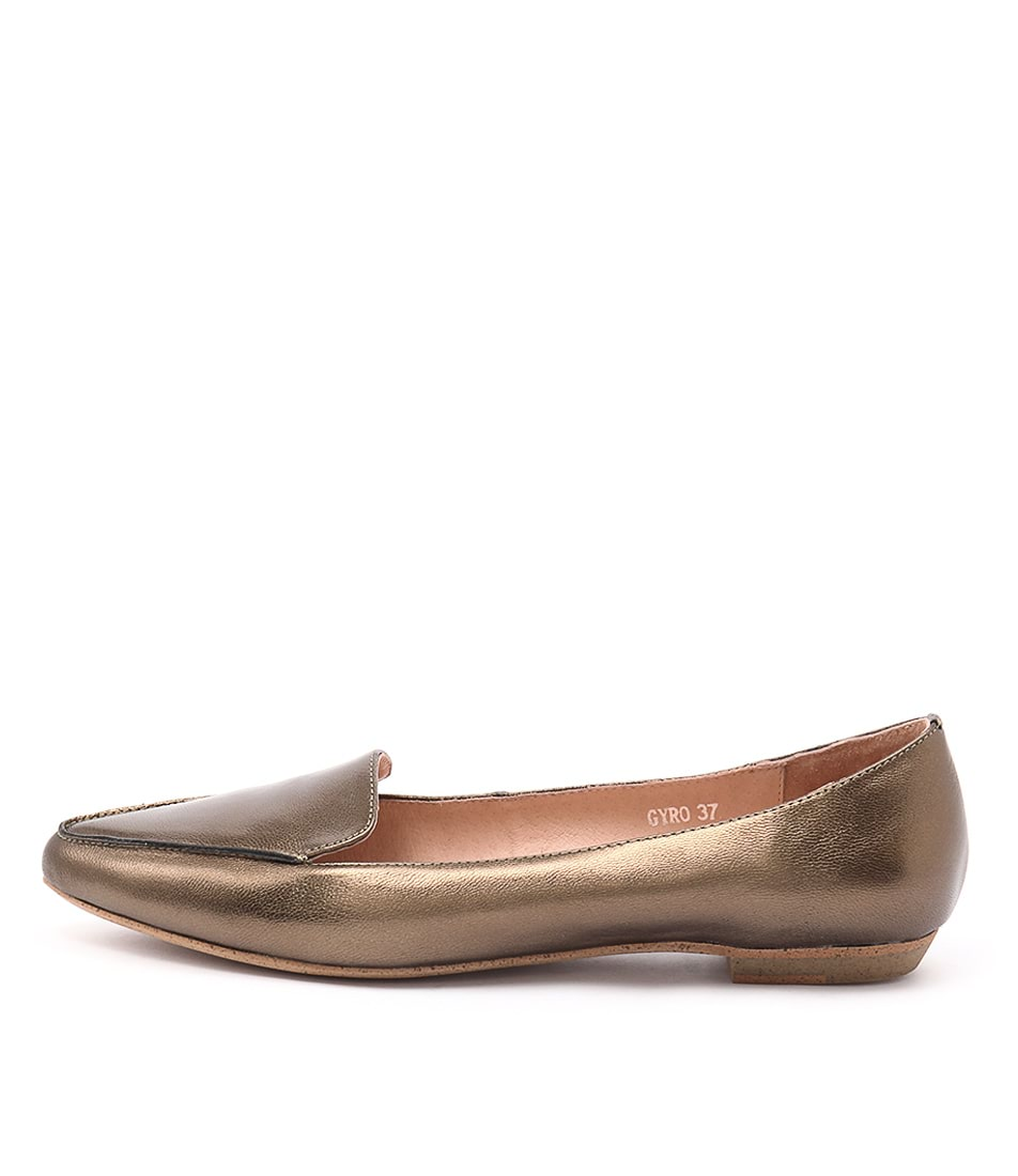 Mollini Gyro Bronze Flat Shoes