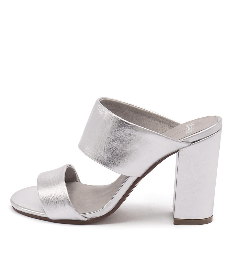 Mollini Keera Silver Casual Heeled Sandals