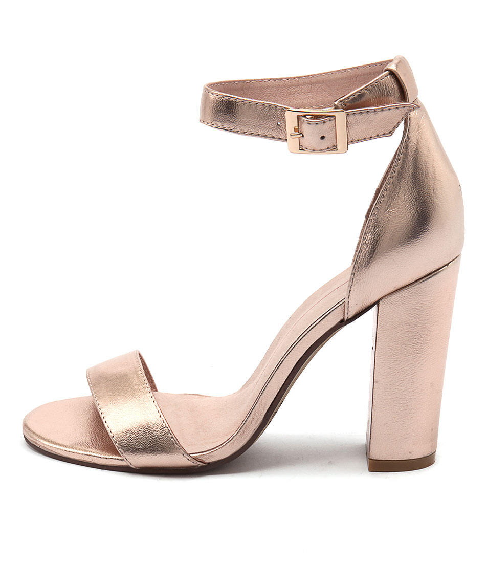 Mollini Martini Rose Gold Sandals