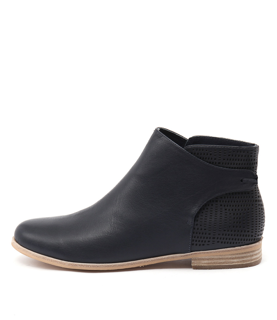 Mollini Quilby Navy Ankle Boots