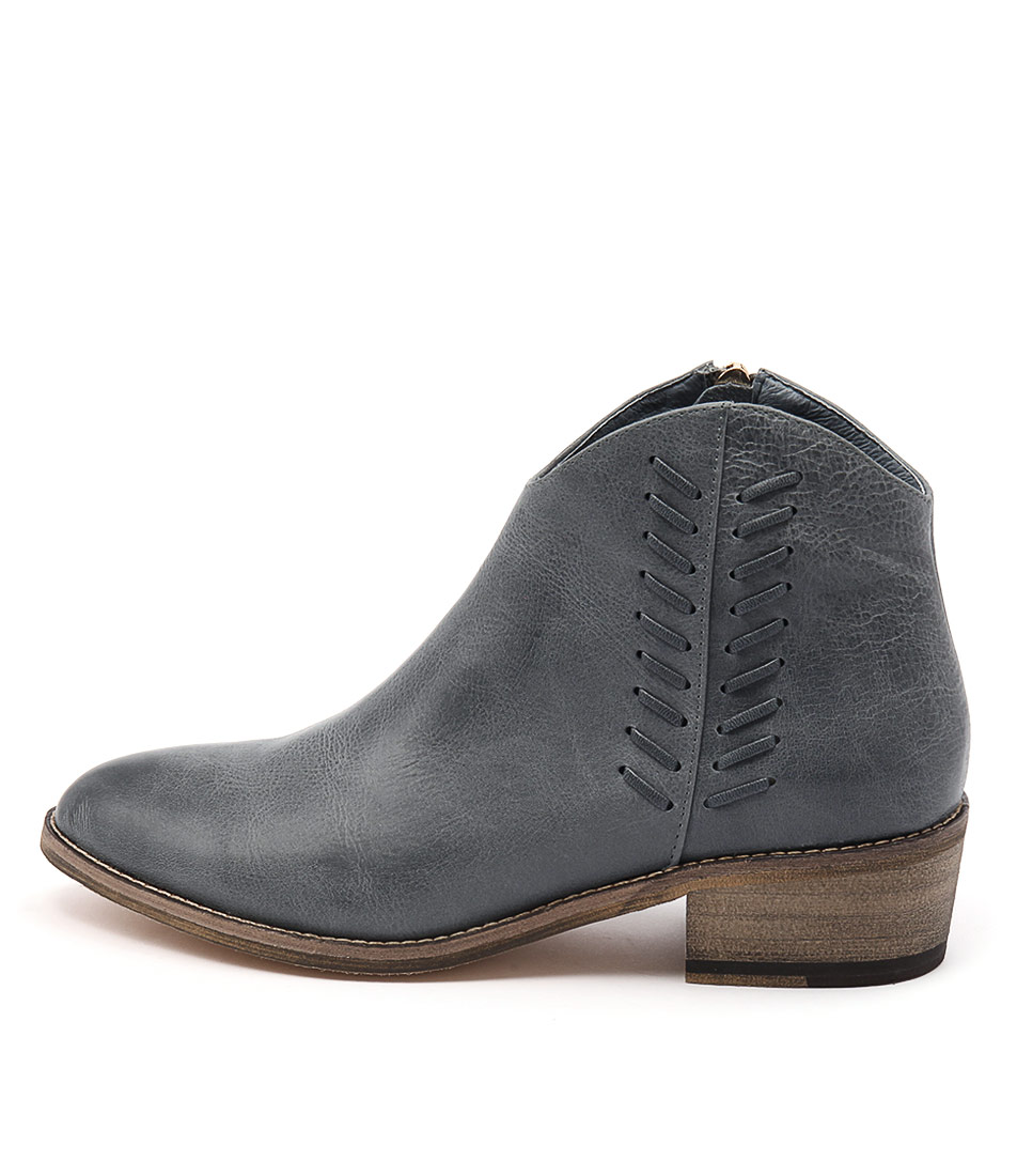 Mollini Zainty Denim Casual Ankle Boots