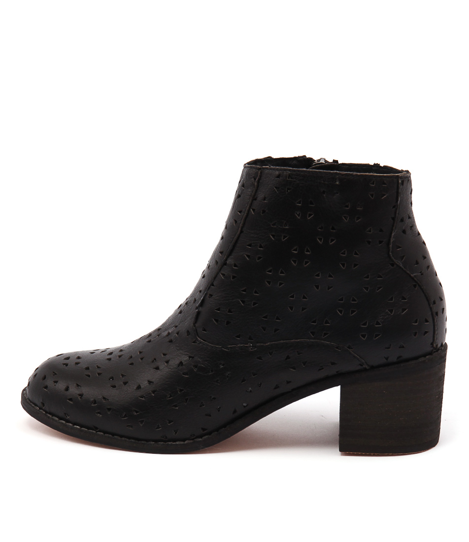 Photo of Mollini Beni Black Ankle Boots womens shoes