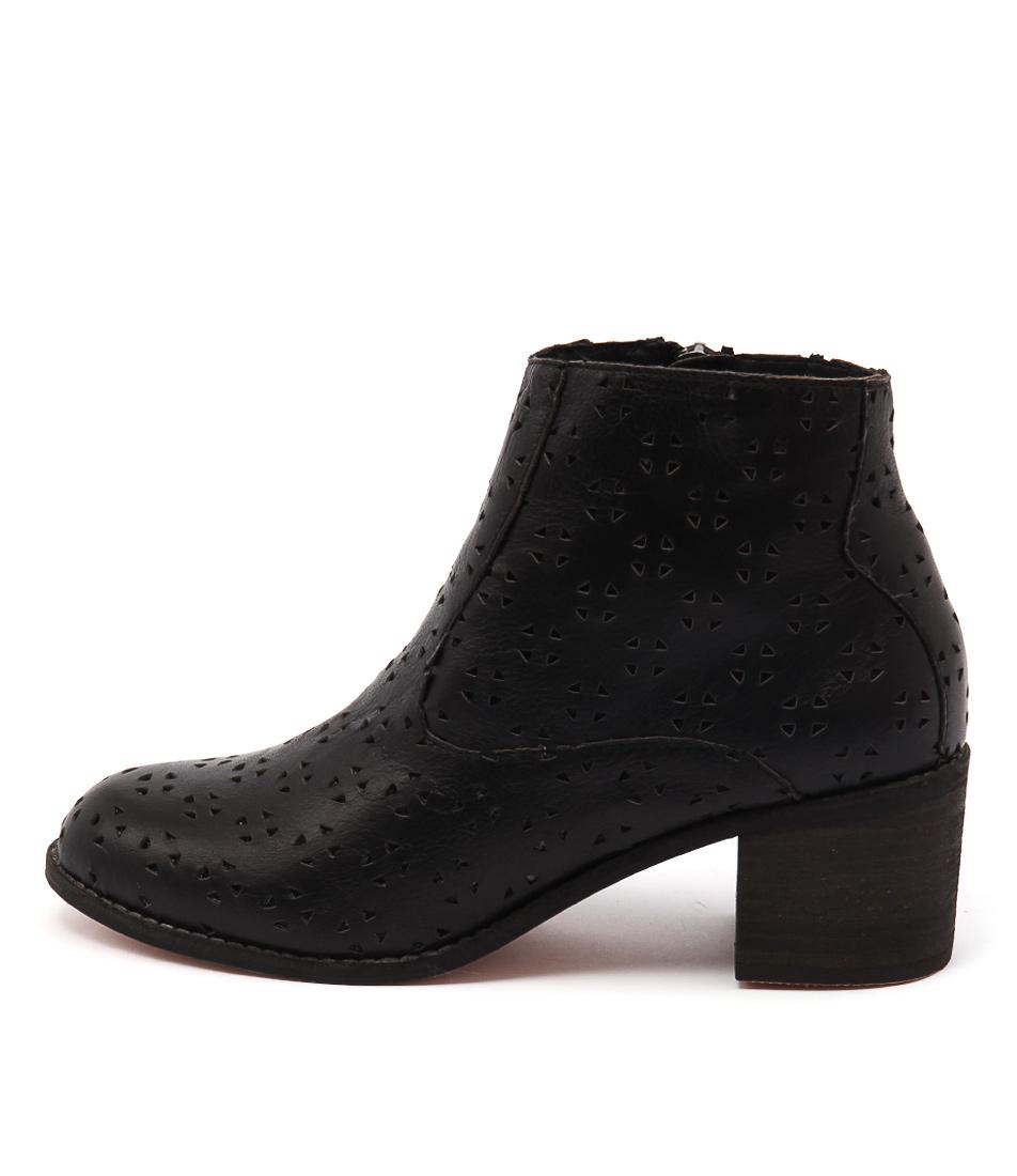 Mollini Beni Black Ankle Boots