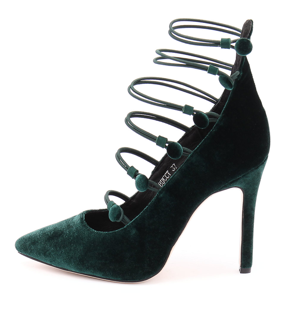 Mollini Buccy Emerald Dress Heeled Shoes