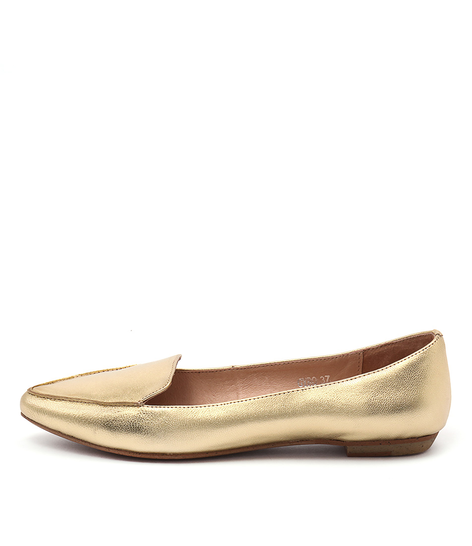 Mollini Gyro Gold Flat Shoes