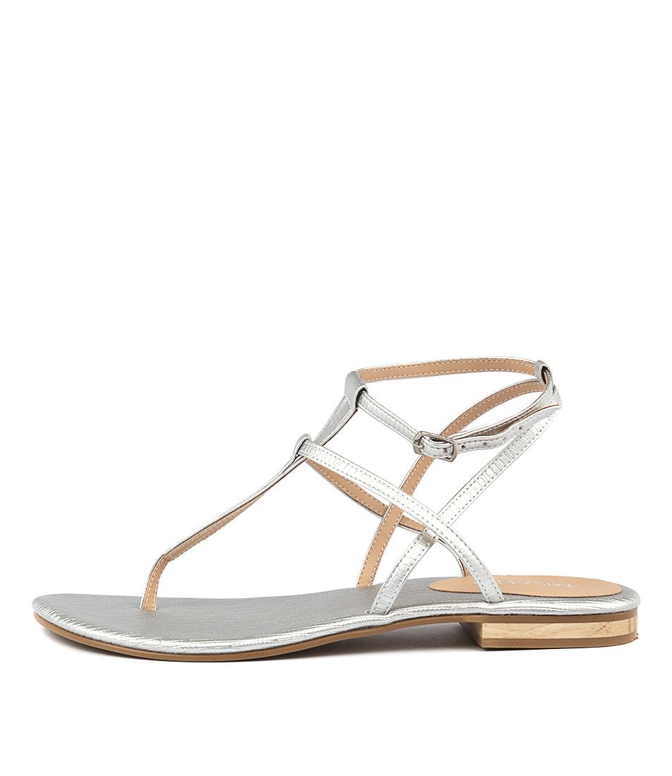Misano Shizu Silver Sandals