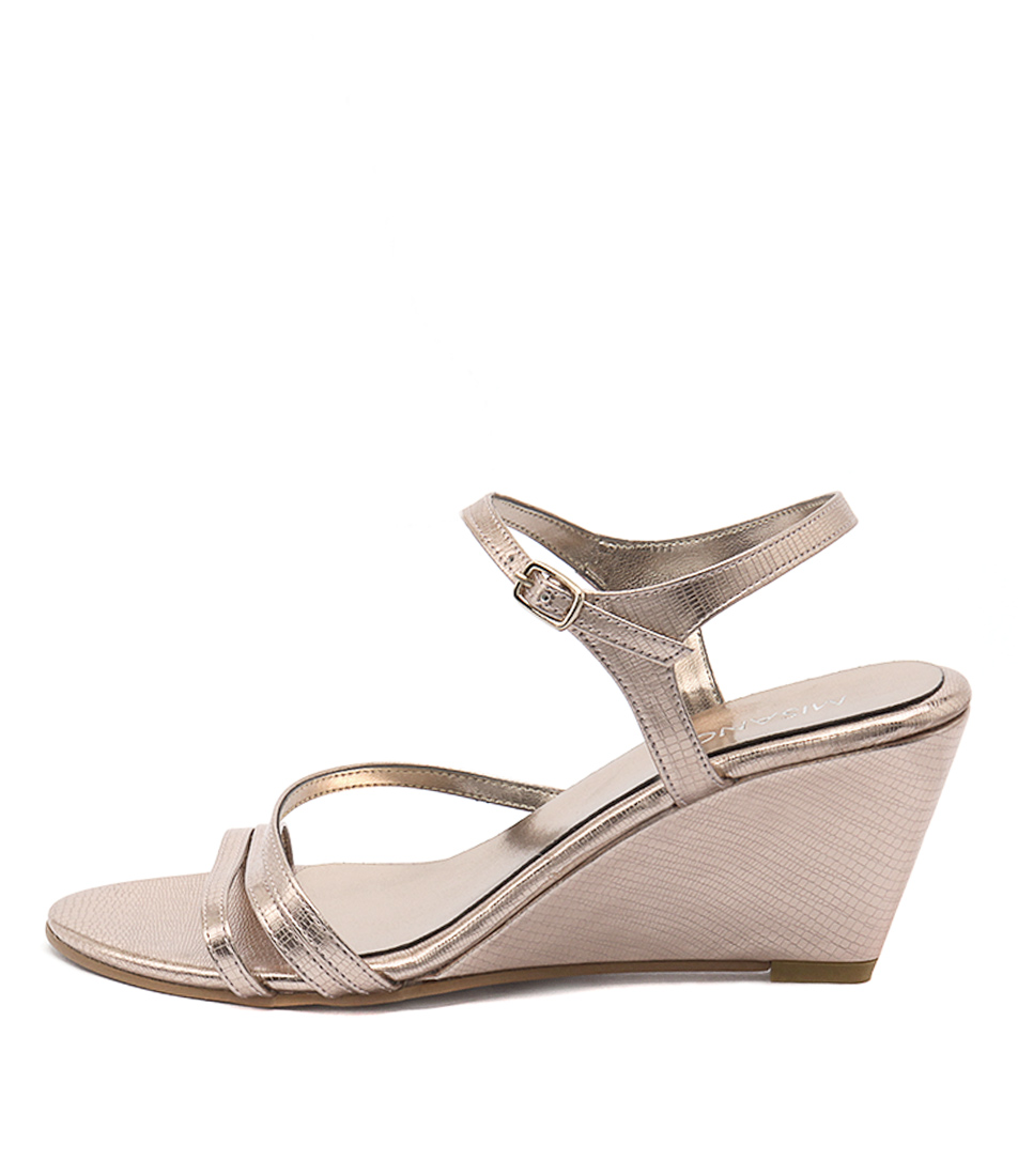 Misano Zephyr Rose Gold Heeled Sandals