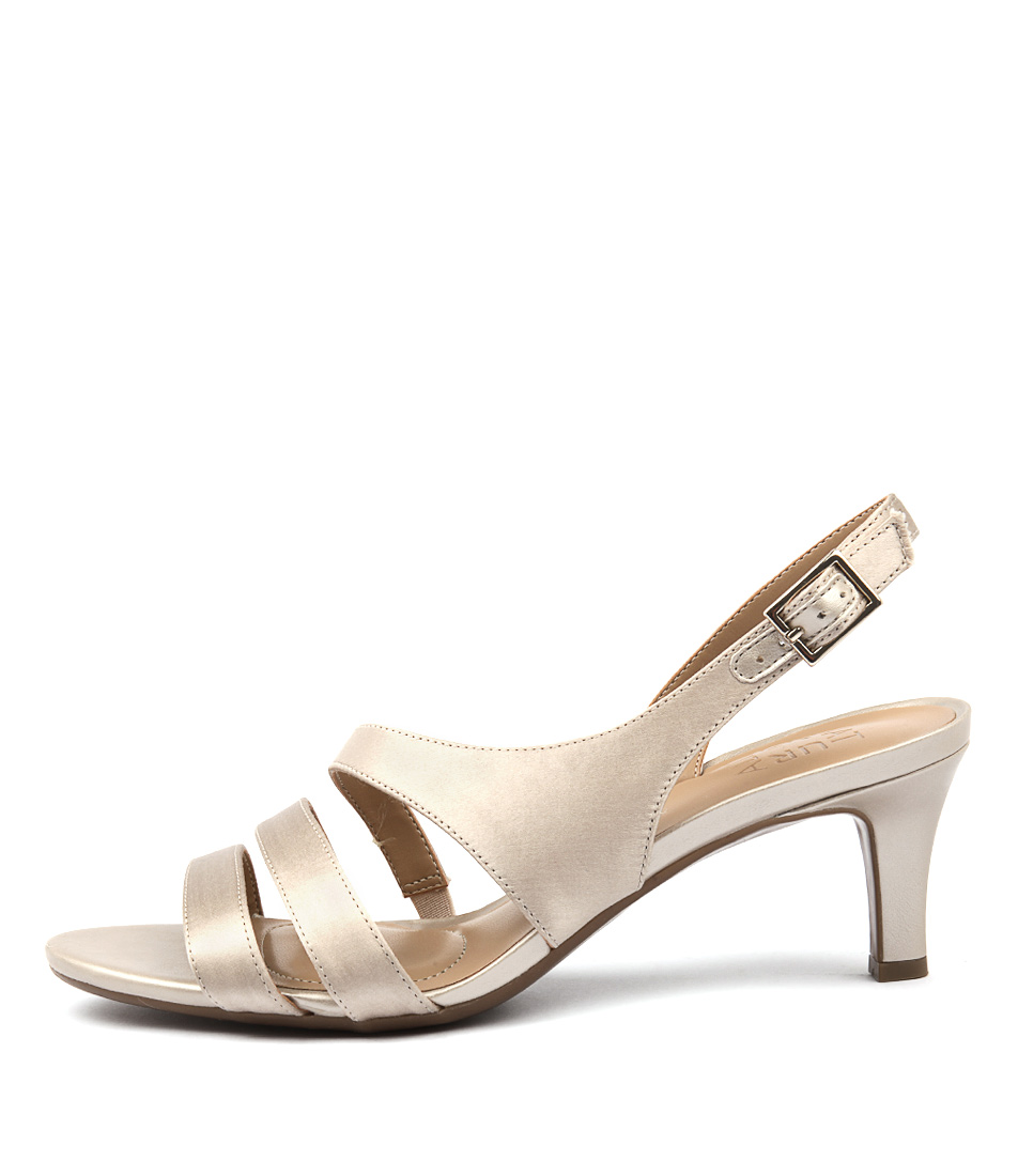 Naturalizer Taimi Champagne Heeled Sandals