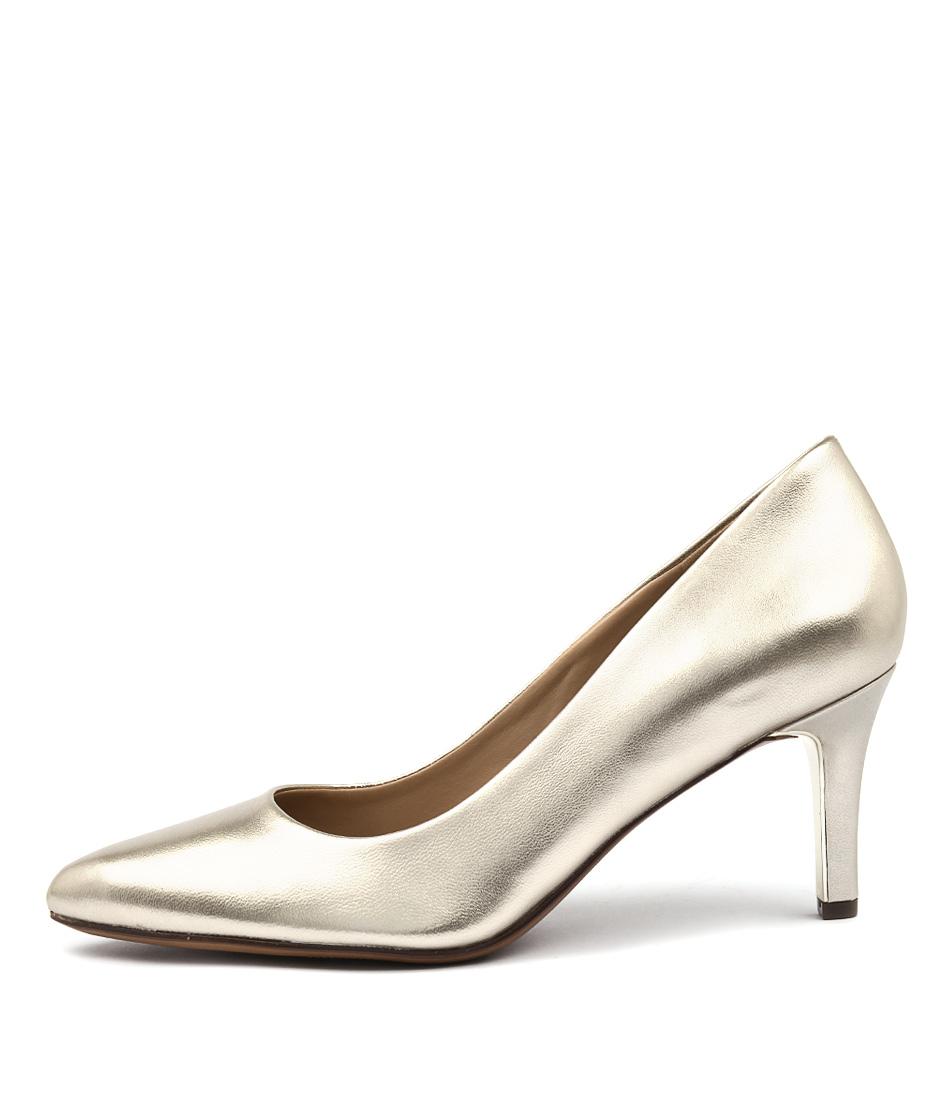 Naturalizer Natalie Na Platina Heeled Shoes