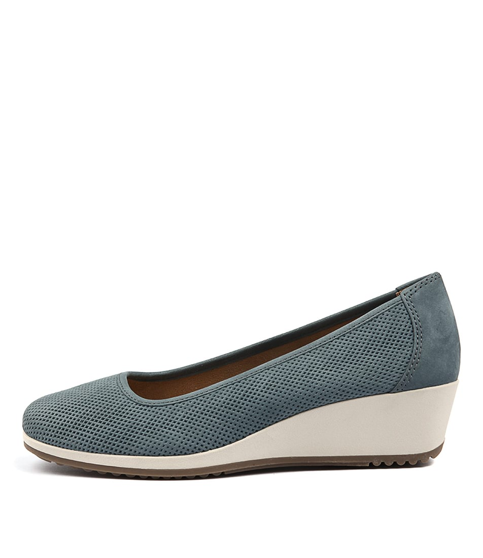 Naturalizer Bronwyn Lady Blue Heeled Shoes