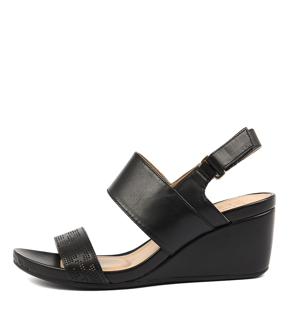 Naturalizer Callas Black Sandals