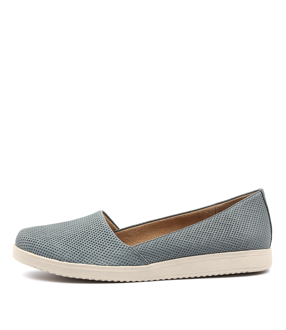Naturalizer Dalia Lady Blue Casual Flat Shoes