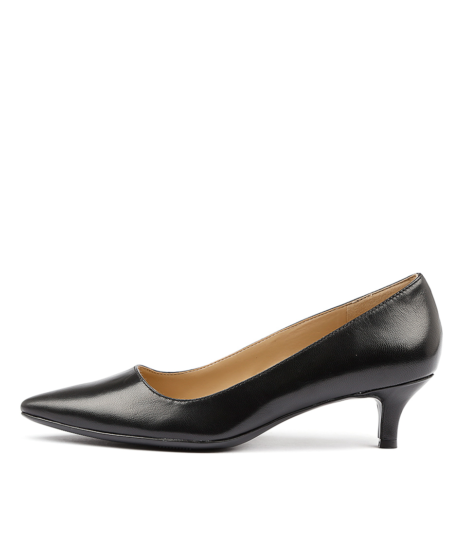 Naturalizer Pippa N Black Heeled Shoes