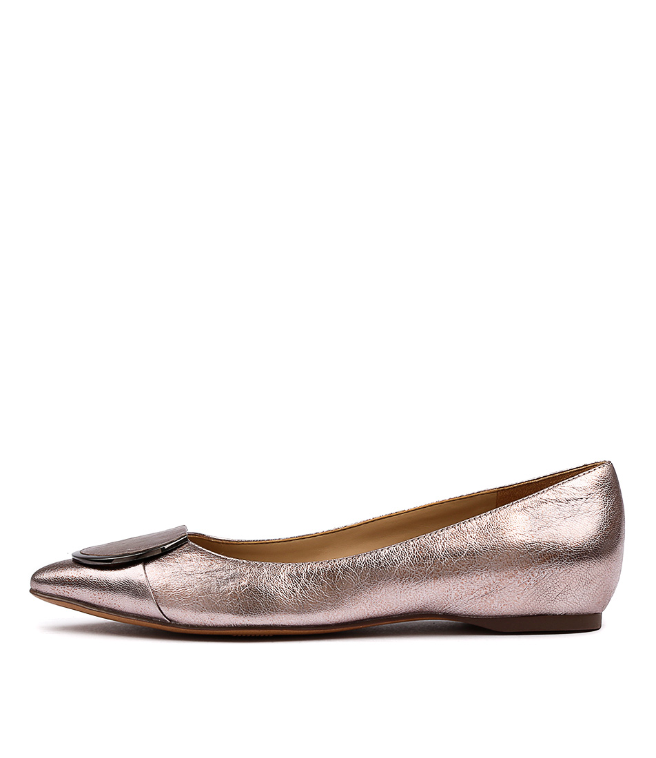 Naturalizer Stella N Rose Metallic Flat Shoes