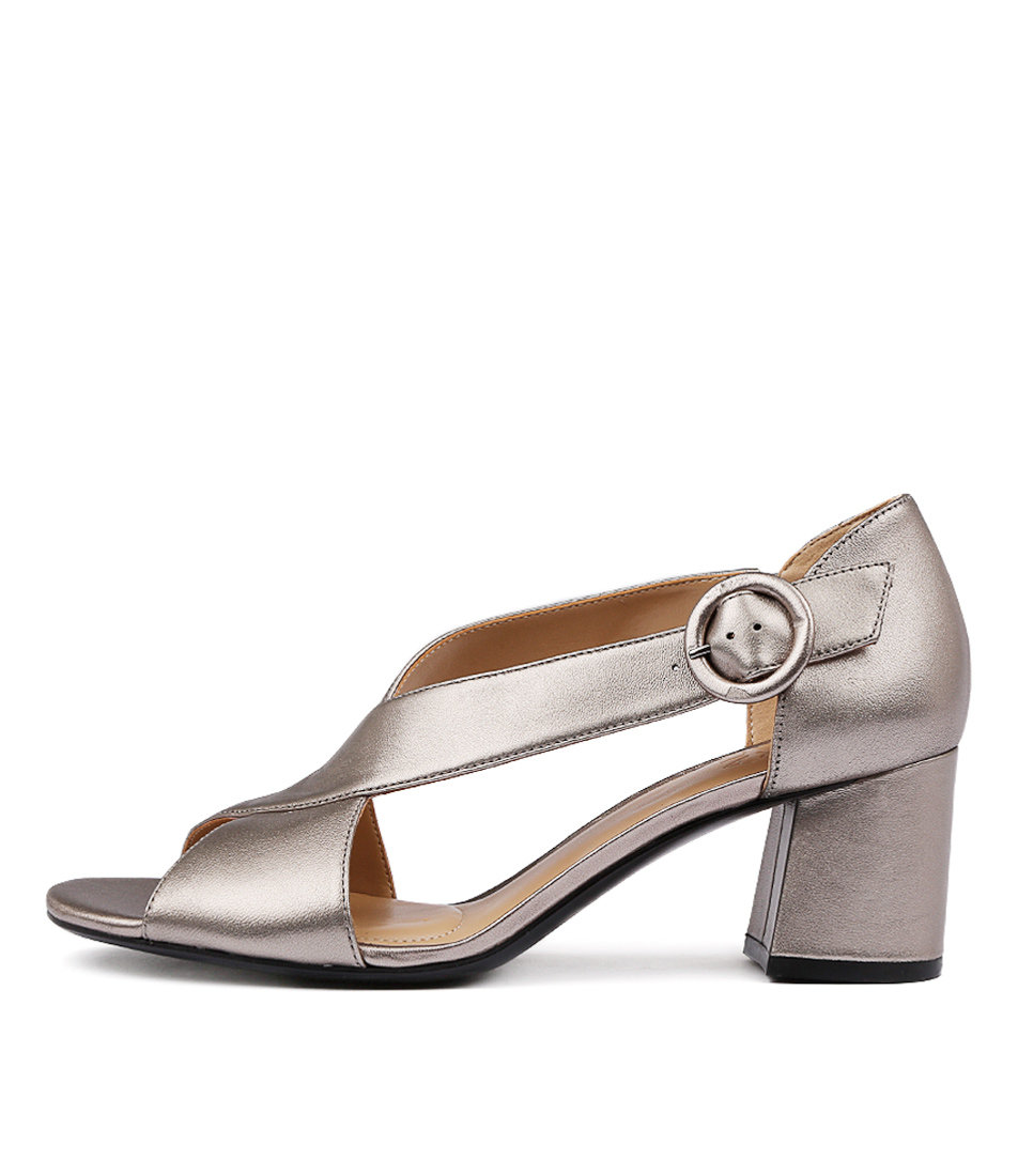 Naturalizer Caden N Metallic Comfort Heeled Shoes