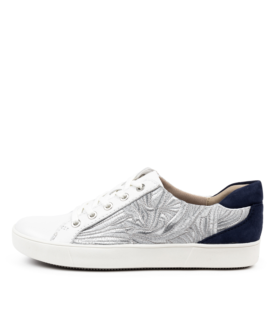 Buy Naturalizer Morrison N White Sneakers online with free shipping