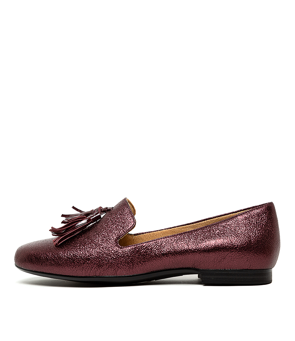 Buy Naturalizer Elly N Bordo Sparkle Flats online with free shipping