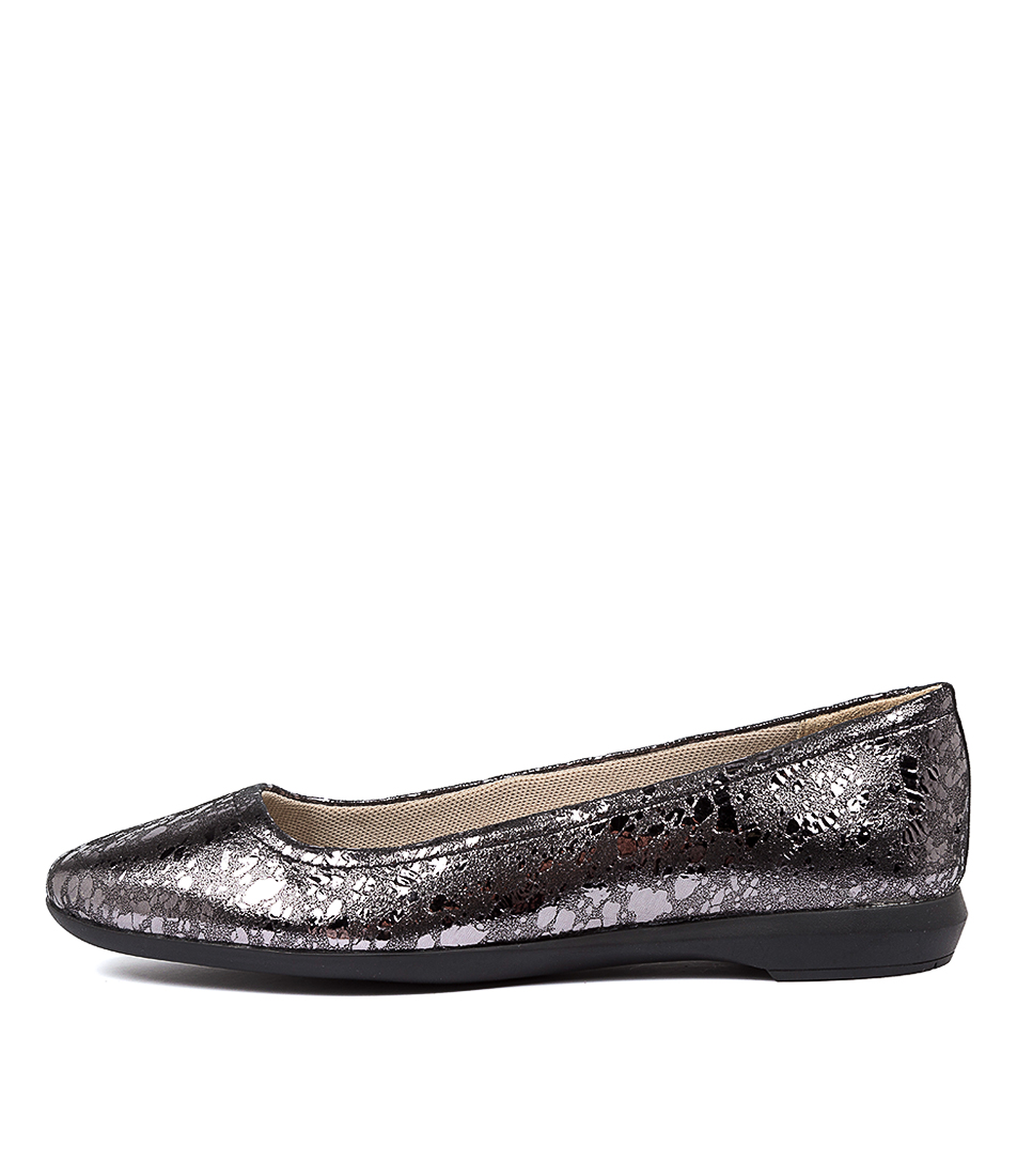 Buy Naturalizer Ayla N Pewter Flats online with free shipping