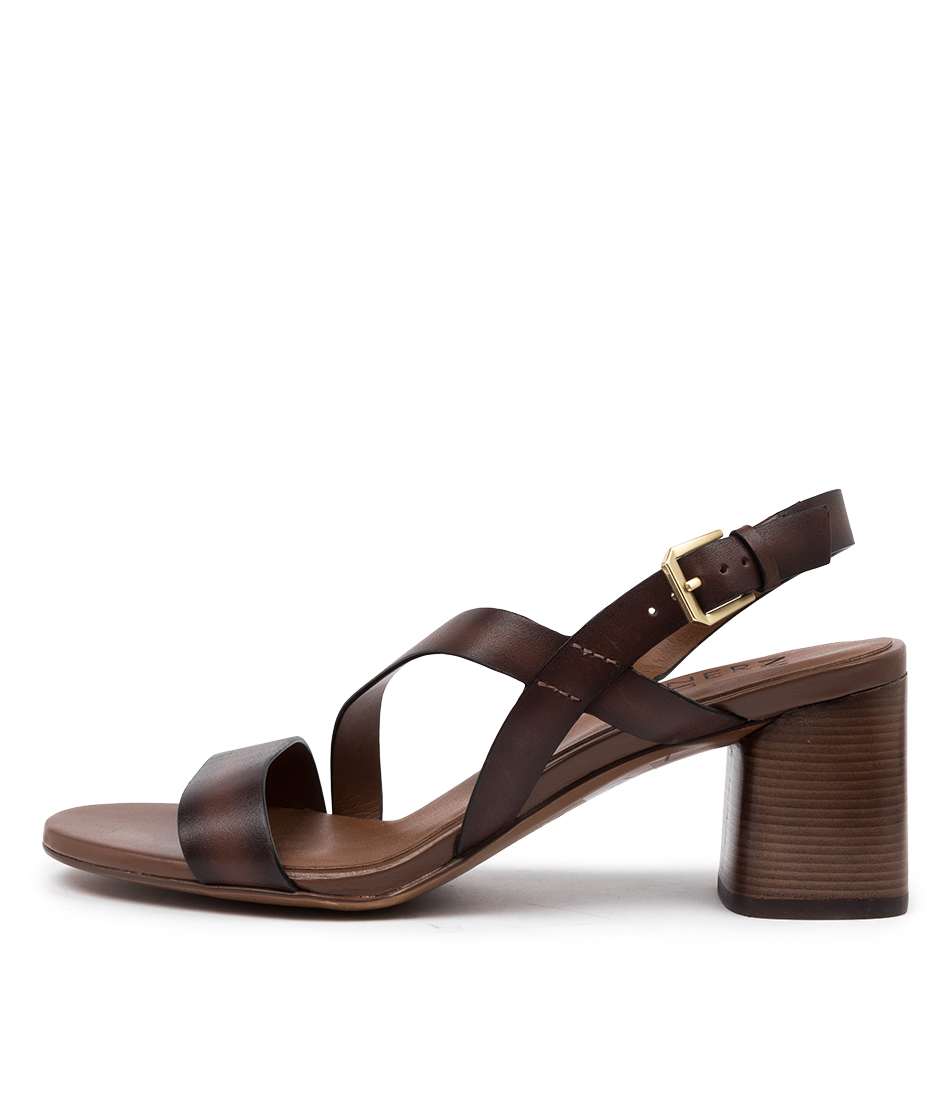 Buy Naturalizer Arianna Na Brown Heeled Sandals online with free shipping