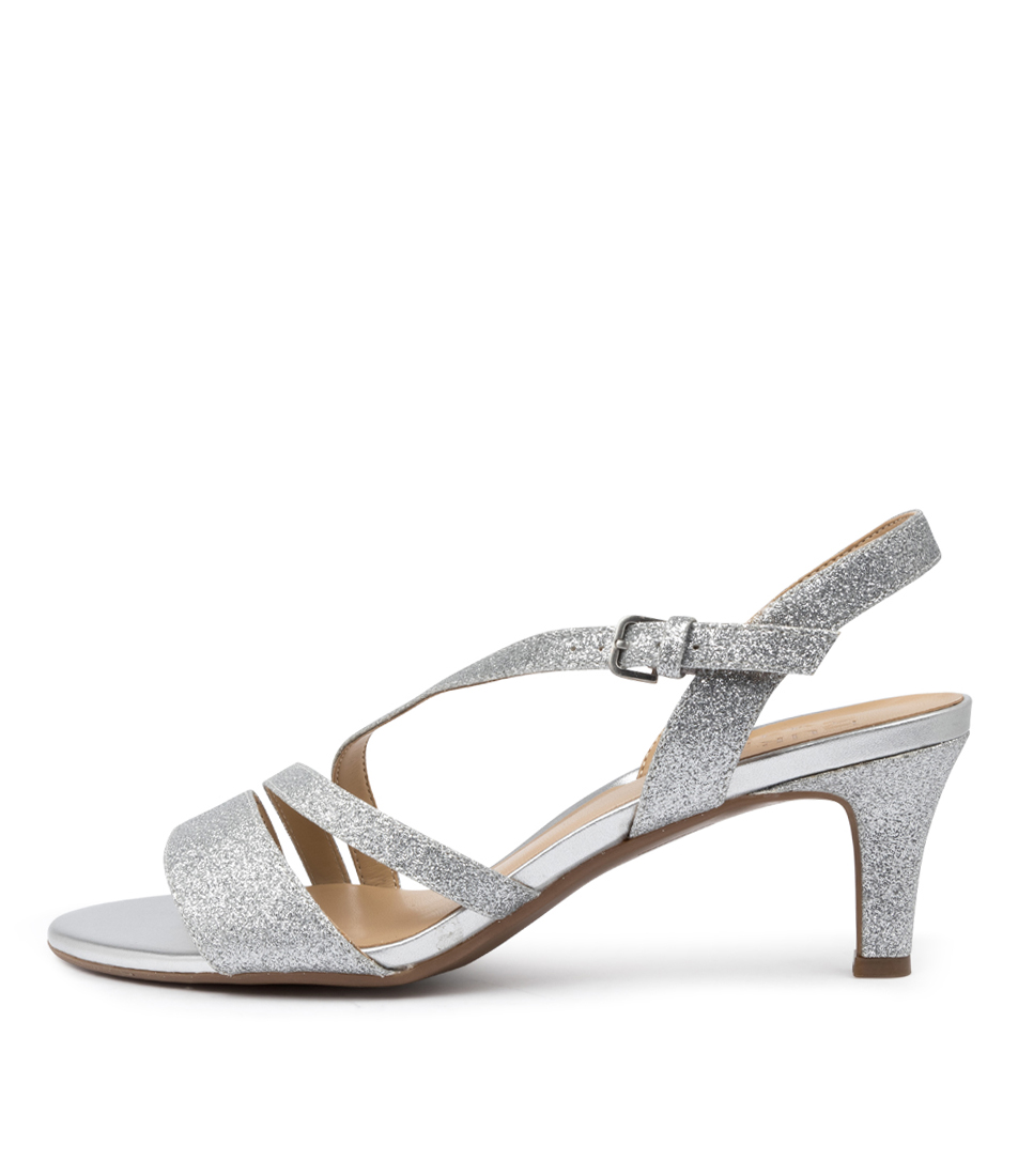 Buy Naturalizer Hanah Na Soft Silver Heeled Sandals online with free shipping