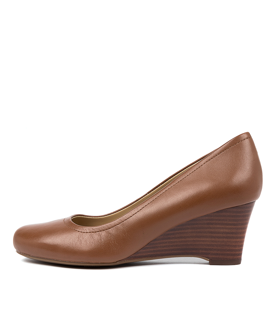 Buy Naturalizer Hydie Na Saddle Tan High Heels online with free shipping