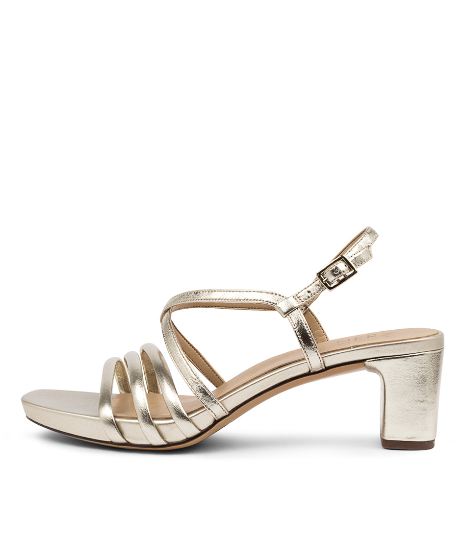 Buy Naturalizer Iris Na Champagne Heeled Sandals online with free shipping