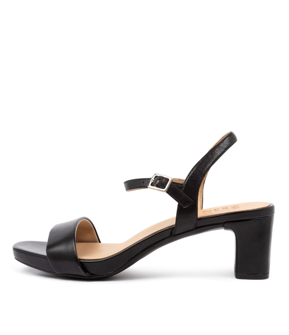 Buy Naturalizer Ivy Na Black Heeled Sandals online with free shipping