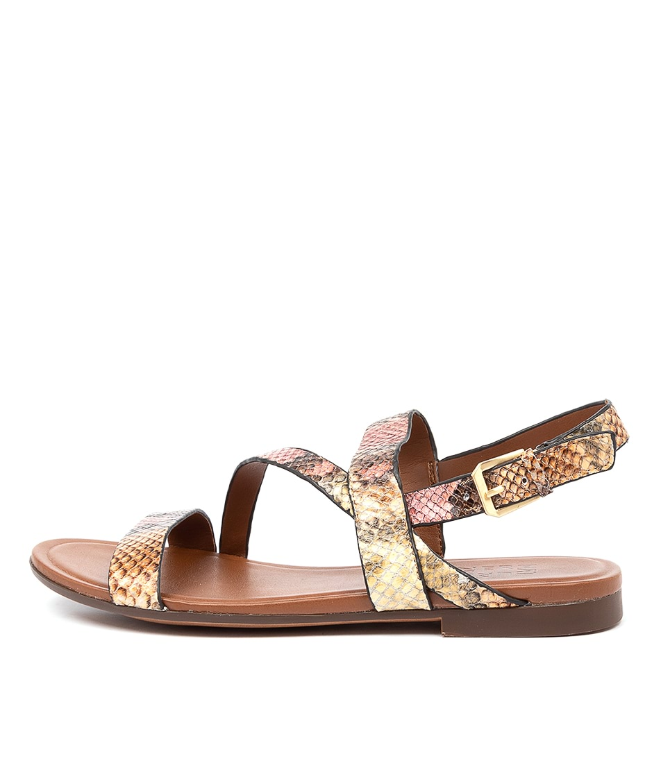 Buy Naturalizer Tru Na Multi Flat Sandals online with free shipping