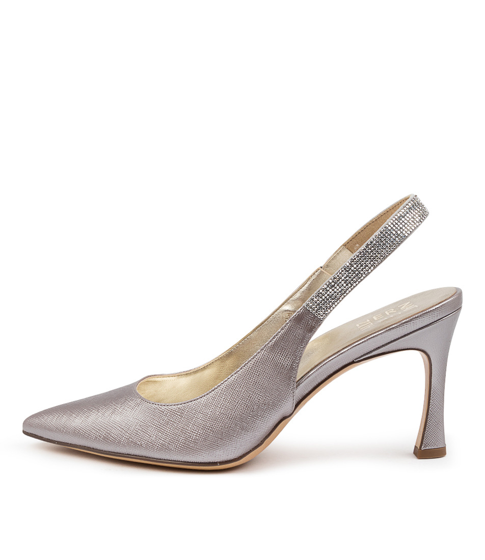 Buy Naturalizer Aleah Na Silver High Heels online with free shipping