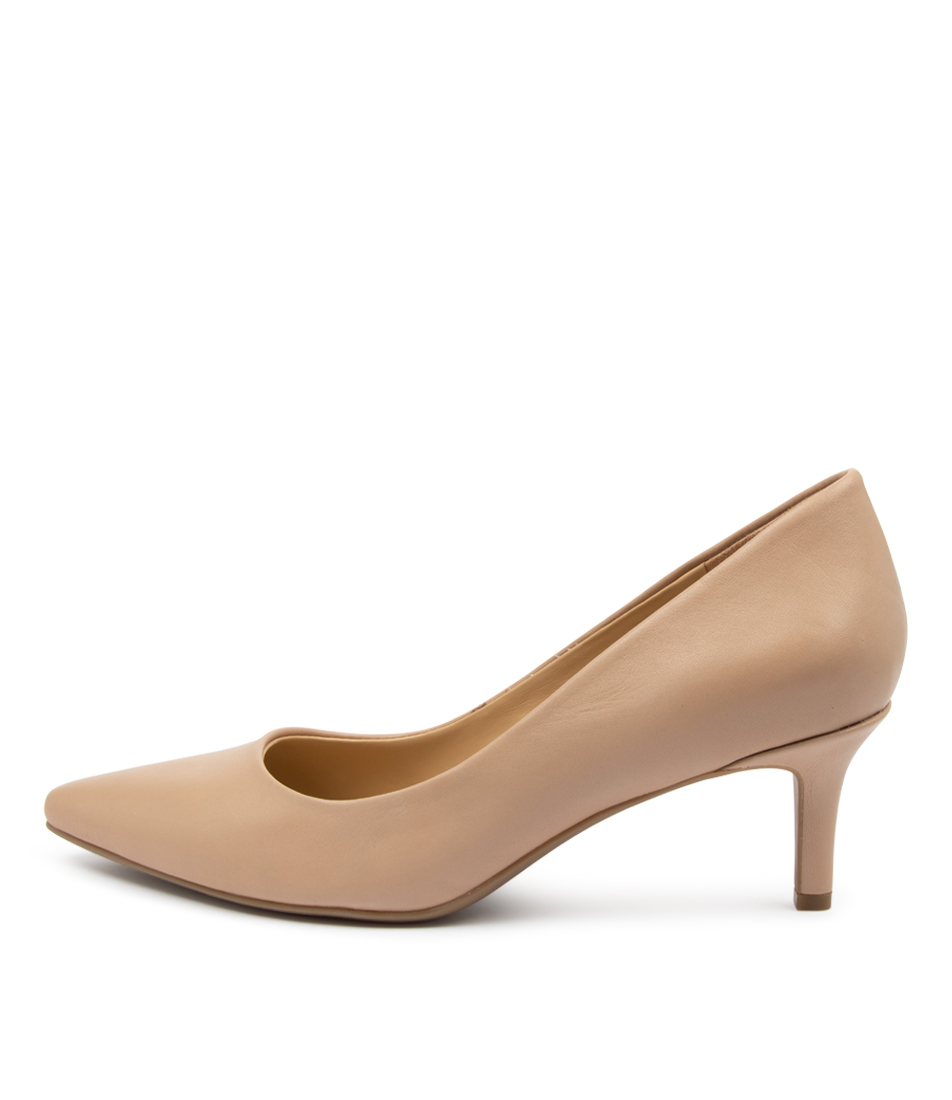 Buy Naturalizer Allison Na Tender Taupe High Heels online with free shipping