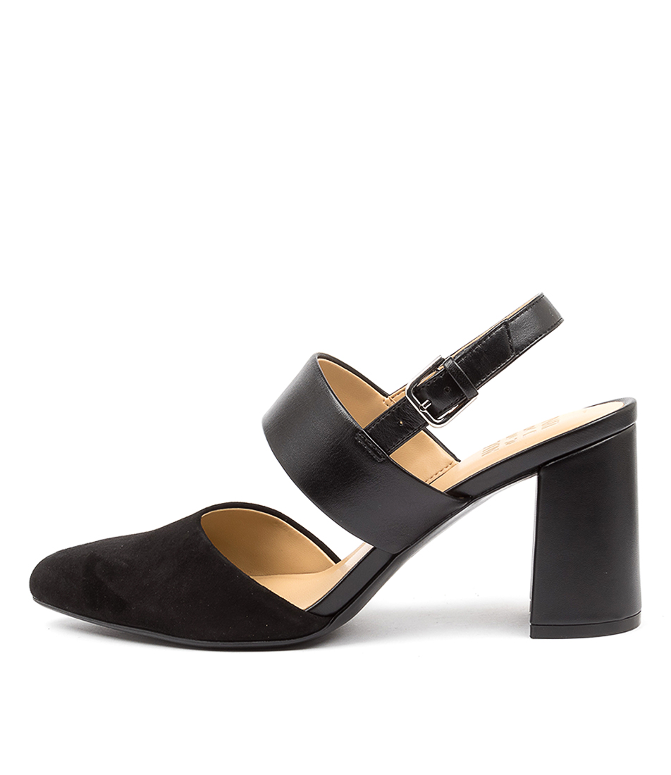 Buy Naturalizer Suzie Na Black HIgh Heels Shoes online with free shipping