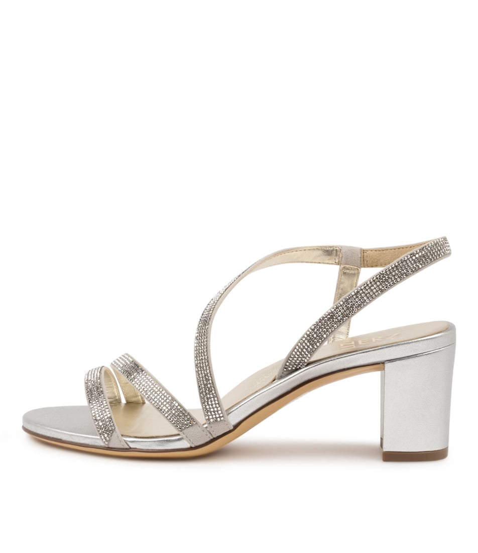 Buy Naturalizer Vanessa2 Na Silver Heeled Sandals online with free shipping