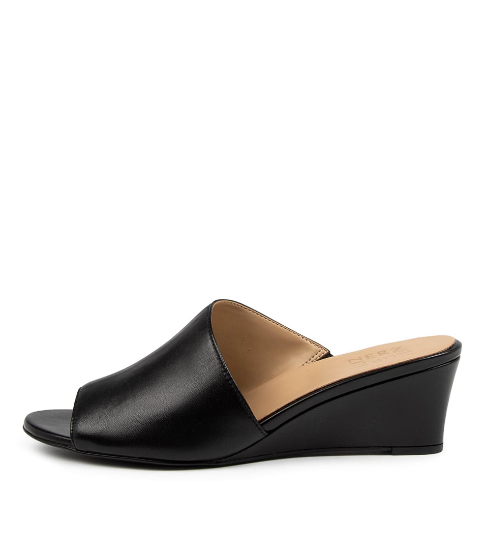 Buy Naturalizer Sansa Na Black Heeled Sandals online with free shipping