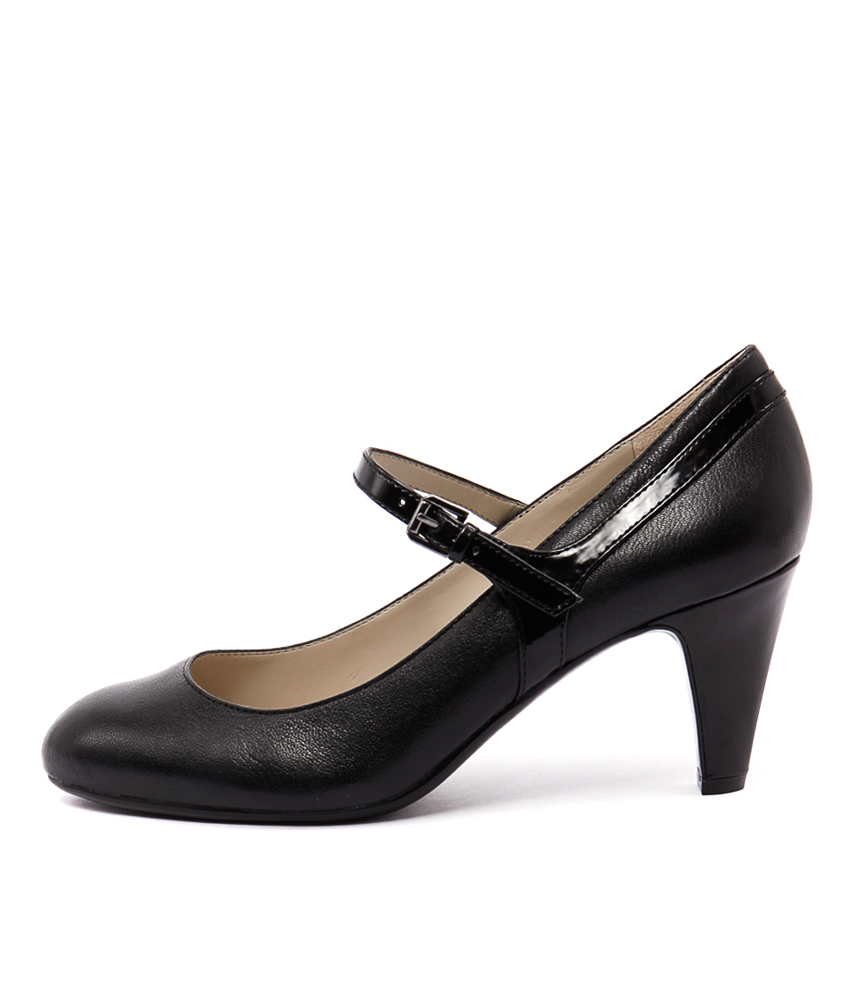 Naturalizer Orianne Black Heeled Shoes