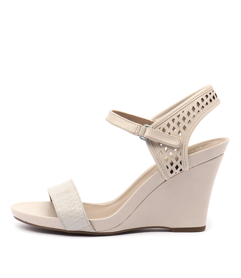 Naturalizer Brealyn Porcelain Dress Heeled Sandals