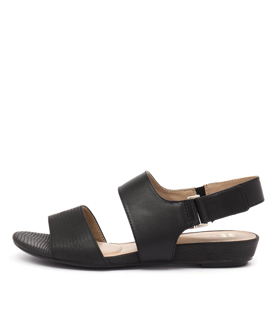 Naturalizer Lanna Black Sandals