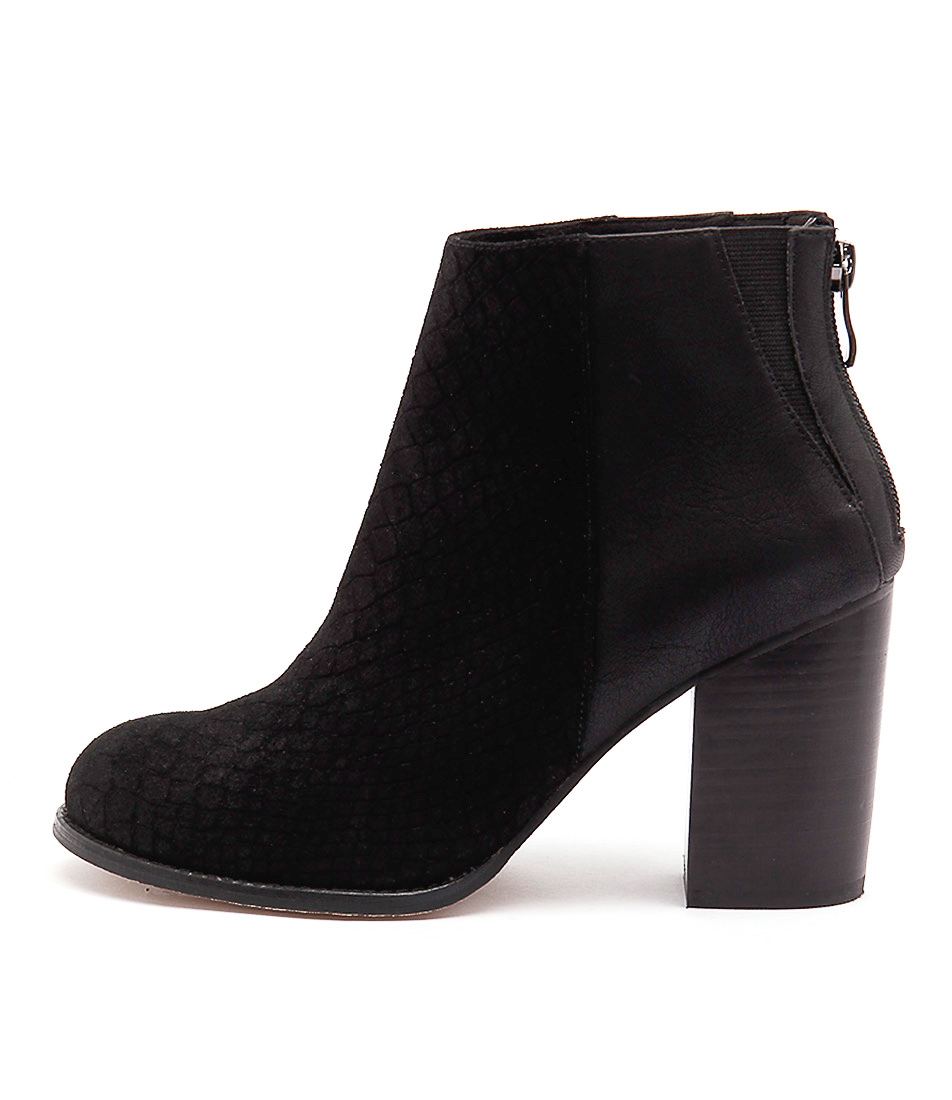 Nude Grand Nu Black Casual Ankle Boots