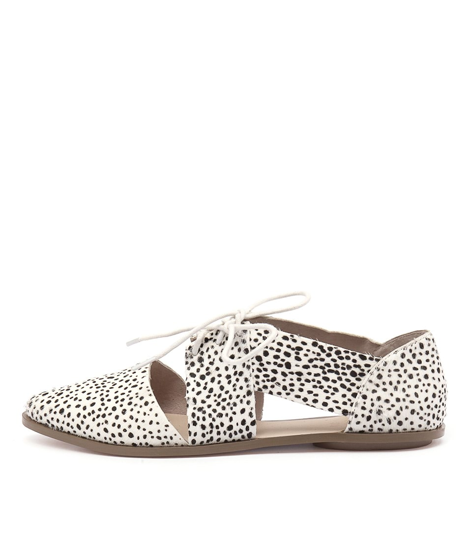 Nude Kira Nu Tiny Spot Flat Shoes