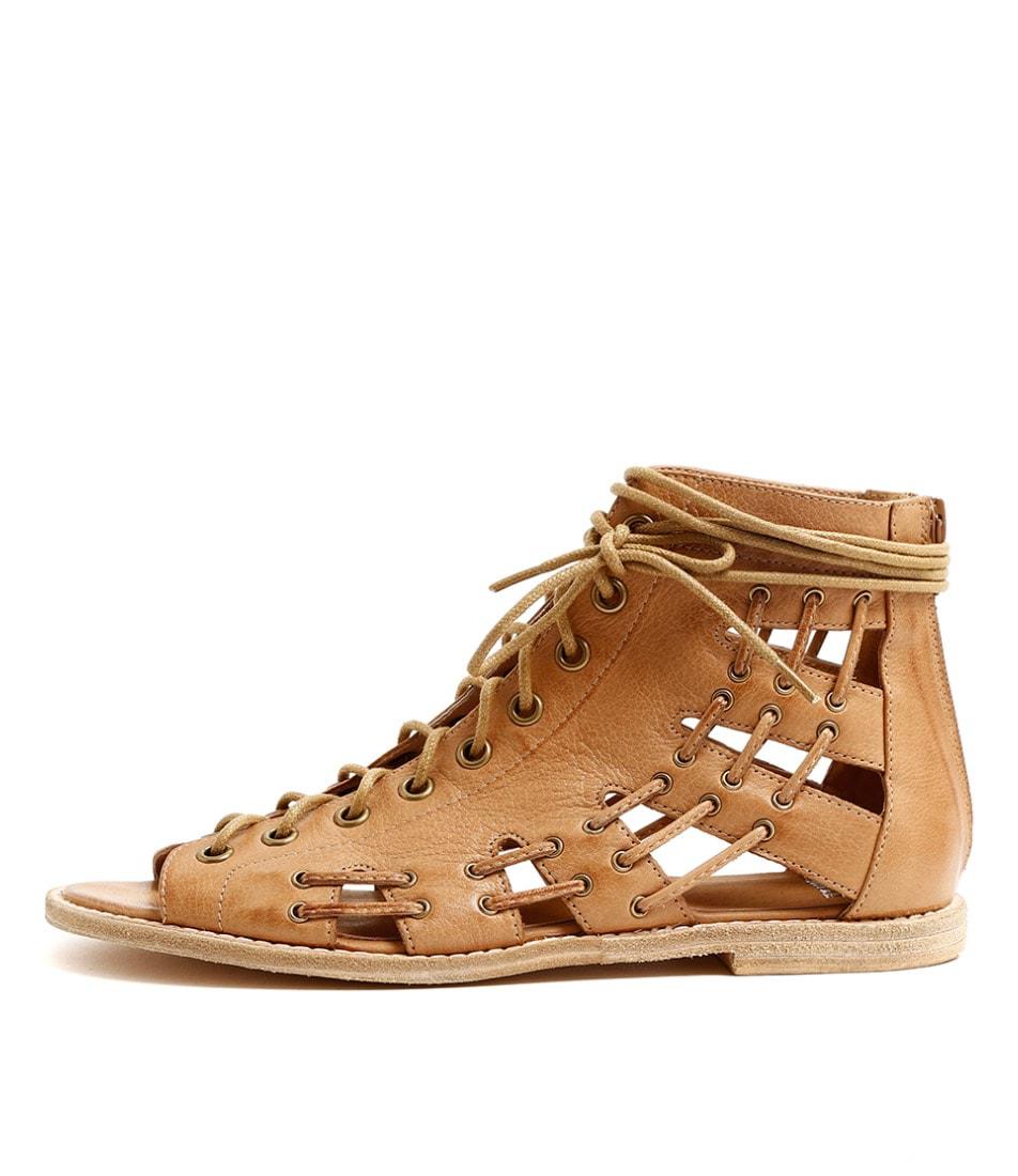 Mollini Navada Tan Casual Flat Sandals