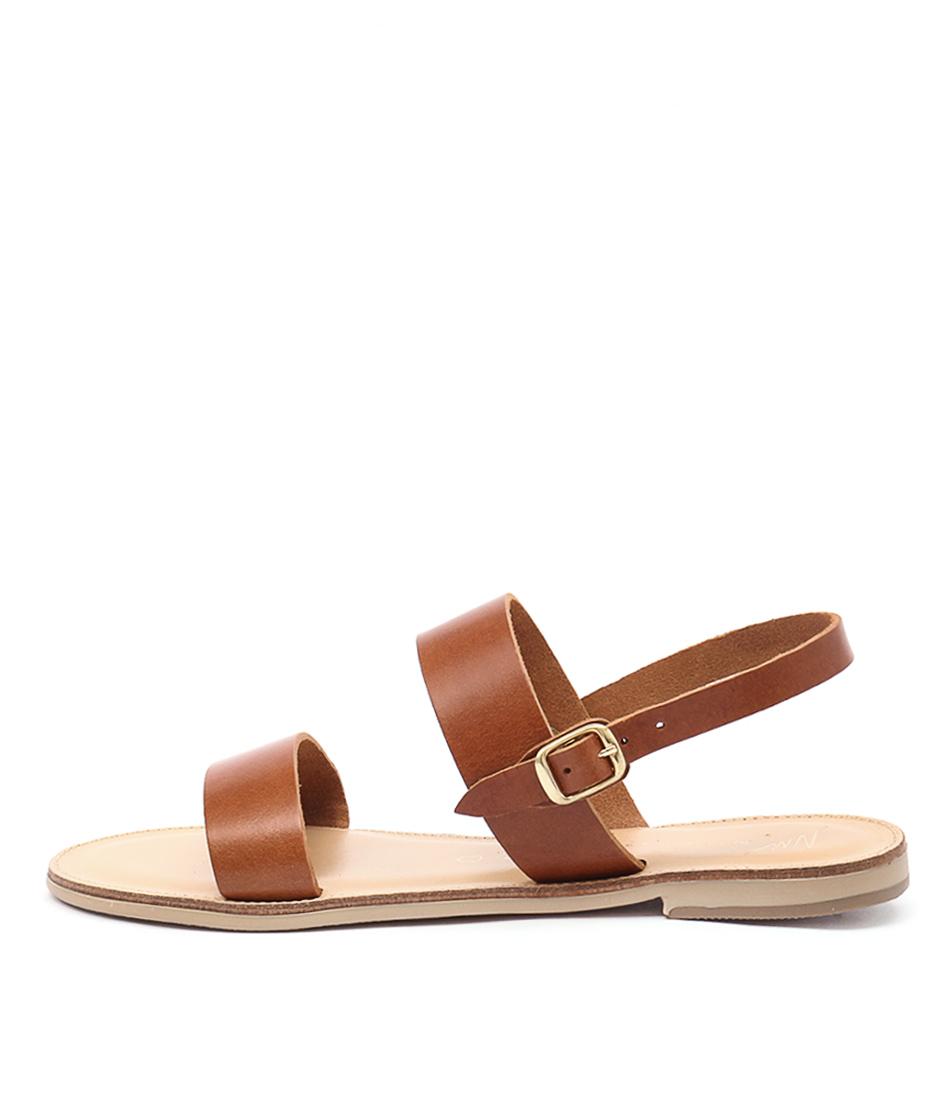 Nicolas Lainas Nia Tan Casual Flat Sandals