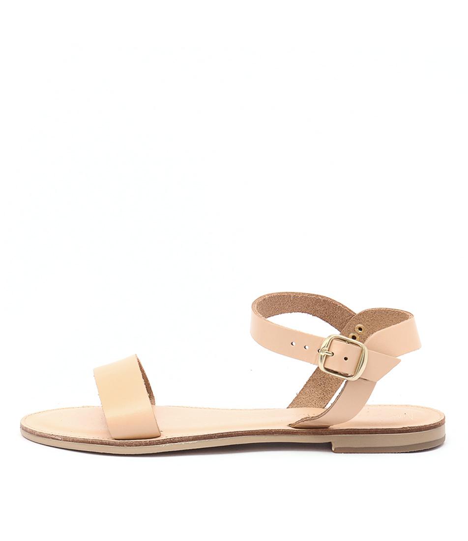 Nicolas Lainas Nadia Nude Casual Flat Sandals