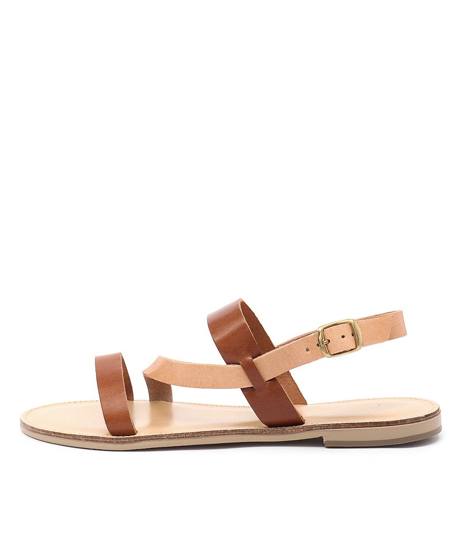 Nicolas Lainas Nikita Nl Tan Natural Tan Sandals