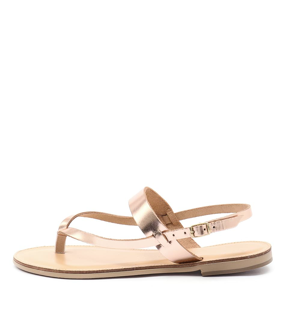 Nicolas Lainas Natalia Nl Copper Sandals