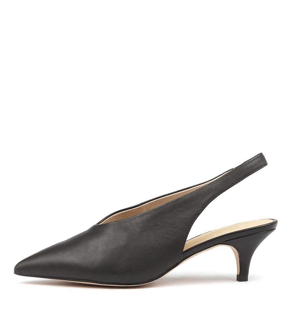 buy Nude Harvey Nu Black Heeled Shoes shop Nude High Heels online